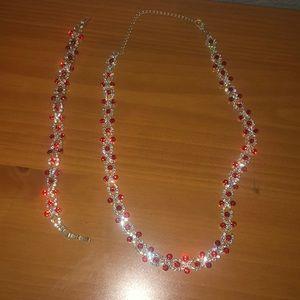 Jewelry - Bracelet, necklace set